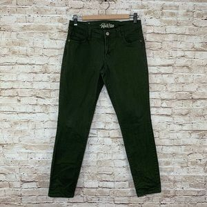 Old Navy rockstar skinny jeans military green 12